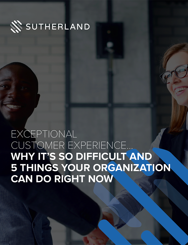 Exceptional Customer Experience - Why it's so difficult and 5 things your organization can do right now
