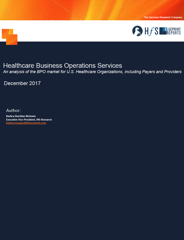 HfS Healthcare Business Operations Services Blueprint