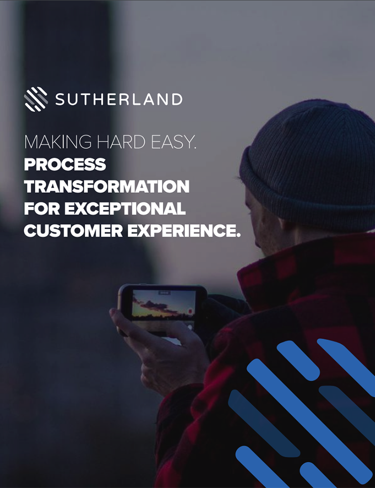 Sutherland Process Transformation Whitepaper cover