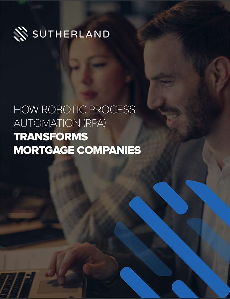 Robotic Process Automation for Mortgage Companies