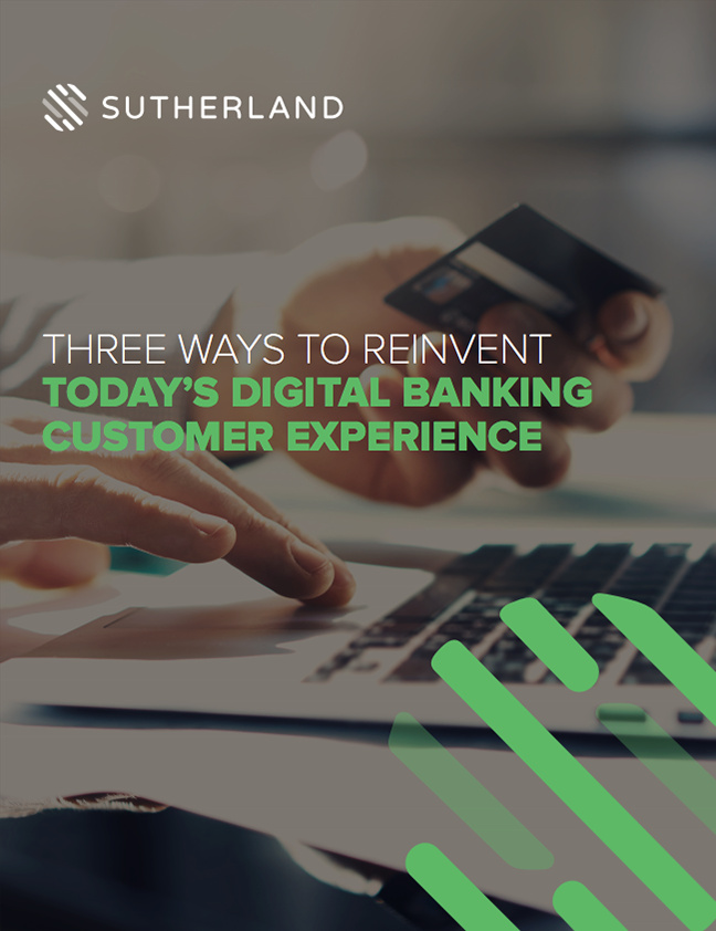 Three Ways to Reinvent Today's Digital Banking Customer Experience - Cover