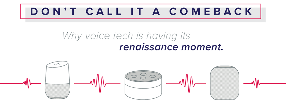 Voice Tech Is Back and Louder Than Ever